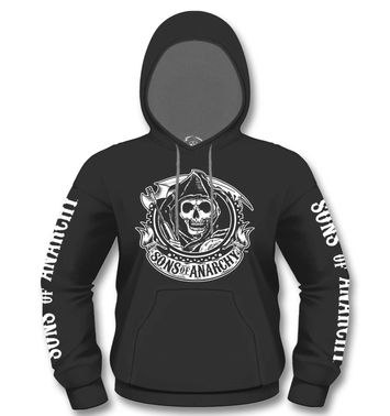 Official Sons Of Anarchy Reaper Banner hoodie