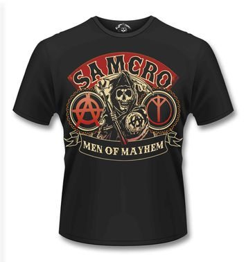 Official Sons Of Anarchy SAMCRO Reaper t-shirt