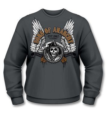 Official Sons Of Anarchy Winged Reaper sweatshirt