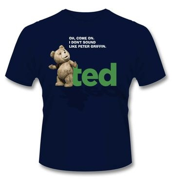 Official Ted Oh Come On t-shirt