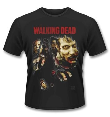Official Walking Dead Zombies Ripped t-shirt