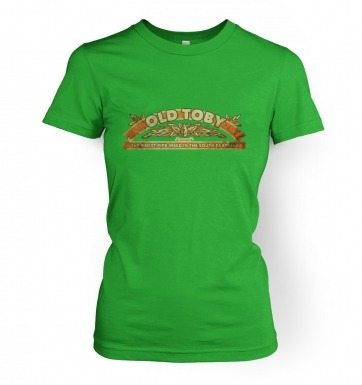Old Toby Pipe Weed women's t-shirt