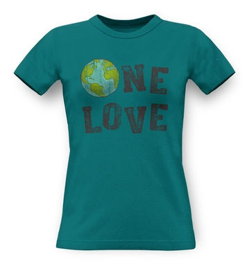 One Love (Earth) classic women's t-shirt
