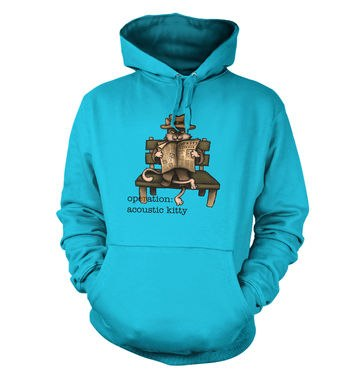 Operation Acoustic Kitty hoodie