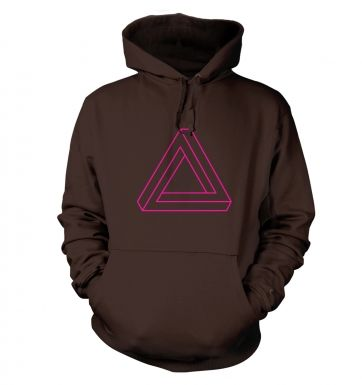 Optical Illusion Triangle hoody