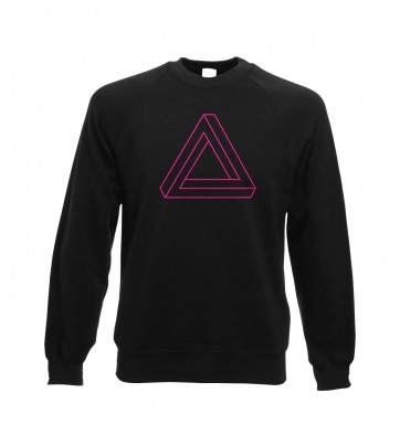 Optical Illusion Triangle sweatshirt
