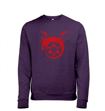 Ouroboros heather sweatshirt