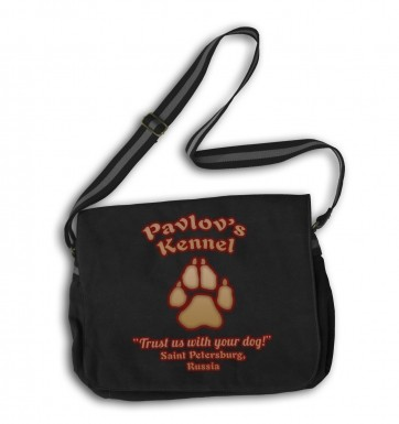 Pavlov's Kennel messenger bag