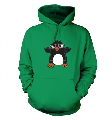 Penguin with Glasses hoodie