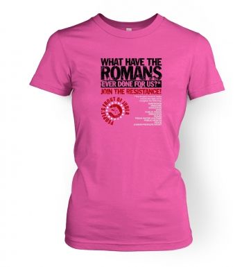 What Have The Romans  Peoples Front Of Judea women's t-shirt