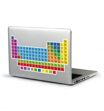 Periodic Table laptop sticker