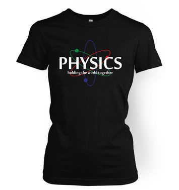 Physics women's t-shirt