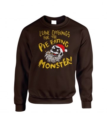 Pie Monster sweatshirt