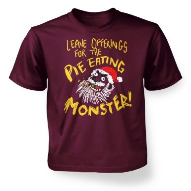 Pie Monster kids' t-shirt
