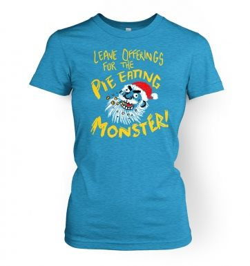 Pie Monster women's t-shirt