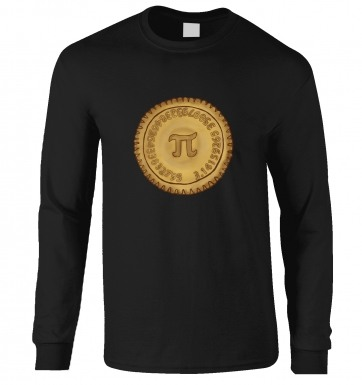 Pi Pie long-sleeved t-shirt