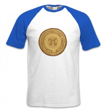 Pi Pie short-sleeved baseball t-shirt