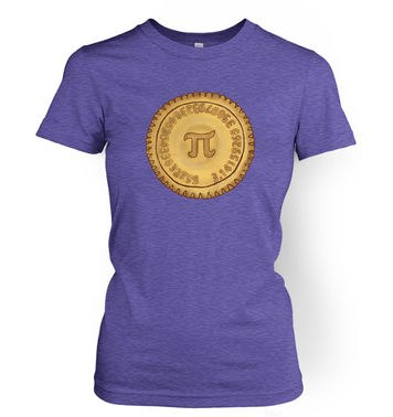 Pi Pie women's t-shirt