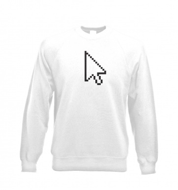 Pixelated Cursor sweatshirt
