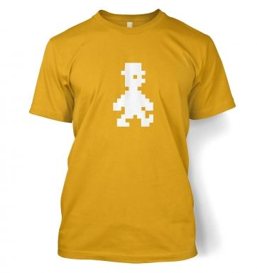 Retro Pixel Guy men's t-shirt 