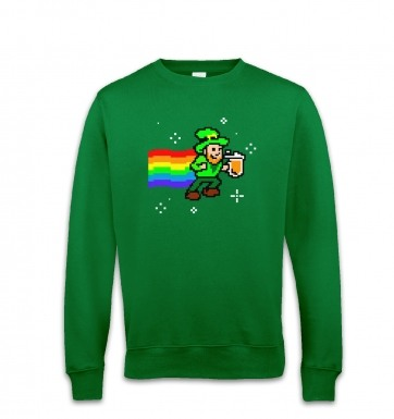 Pixellated Leprechaun sweatshirt
