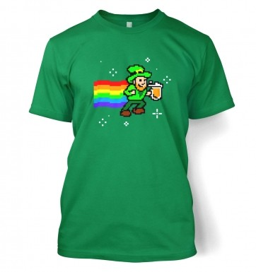 Pixellated Leprechaun t-shirt