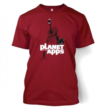 Planet Of The Apps t-shirt