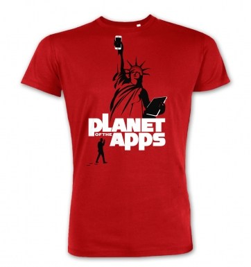 Planet Of The Apps t-shirt (premium)