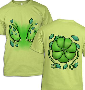 Plant Pocket Monster Costume t-shirt