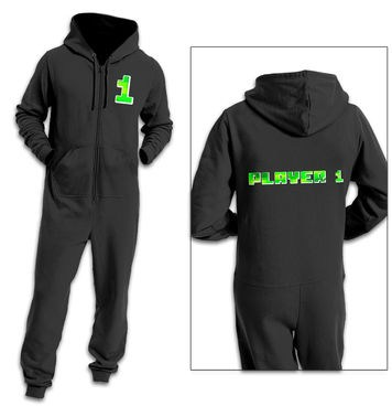 Player One (Pixelated) adult onesie
