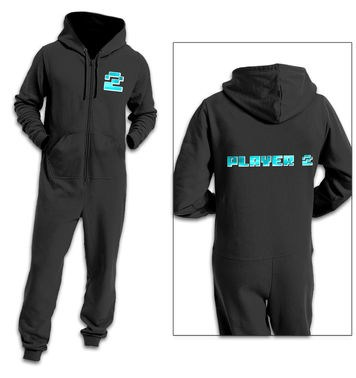 Player Two (Pixelated) adult onesie