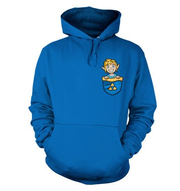Pocket Hyrule Warrior (Blue) hoodie