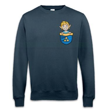 Pocket Hyrule Warrior (Blue) sweatshirt