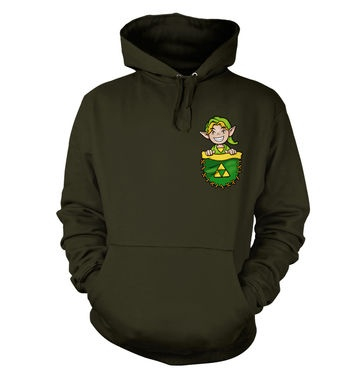 Pocket Hyrule Warrior (Green) hoodie