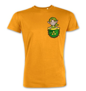 Pocket Hyrule Warrior (Green) premium t-shirt