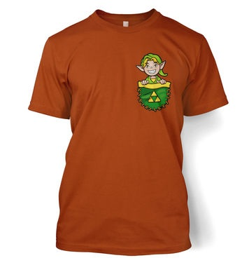 Pocket Hyrule Warrior (Green) t-shirt
