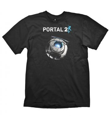 Portal 2 Wheatley in Space t-shirt - OFFICIAL