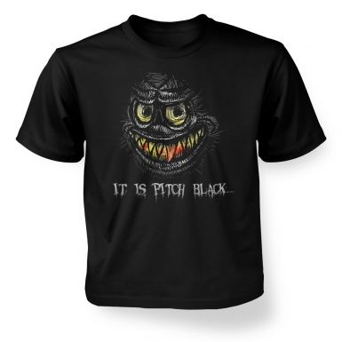 Portrait Of A Grue  kids t-shirt