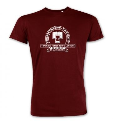 Procrastination University premium t-shirt