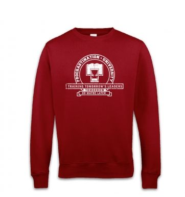 Procrastination University sweatshirt