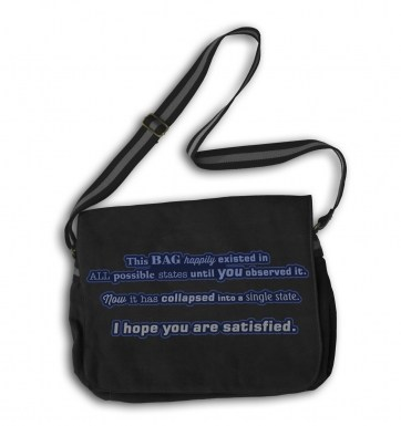 Quantum messenger bag