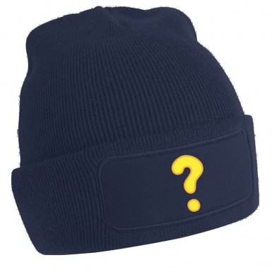 Quest Question Mark beanie hat