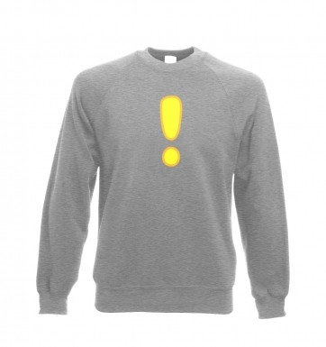 Quest Exclamation Mark sweatshirt