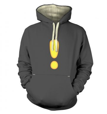 Quest Exclamation Mark Adult Premium Hoodie
