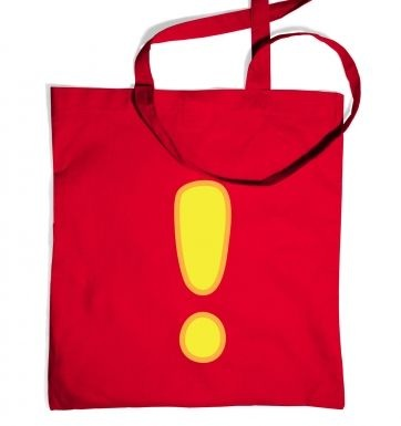 Quest Exclamation Mark tote bag