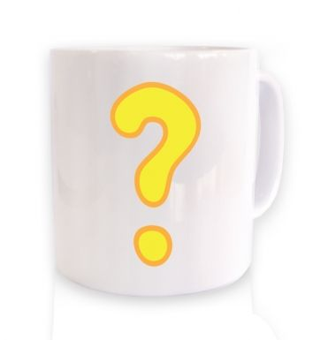 Quest Question Mark  mug