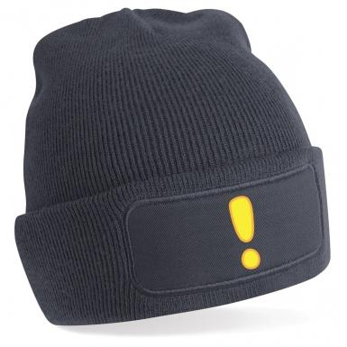 Quest Exclamation Mark beanie hat