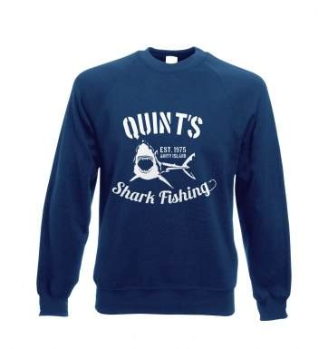 Quint's Shark Fishing sweatshirt