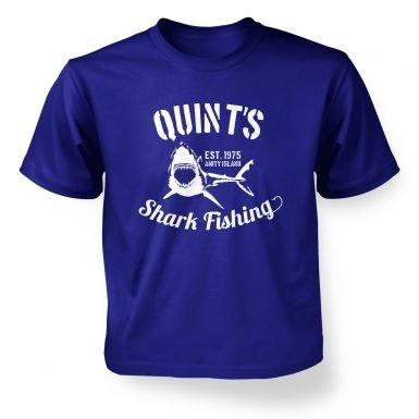 Quint's Shark Fishing kids' t-shirt