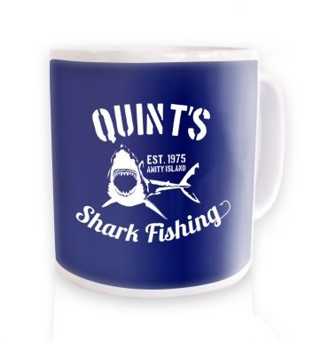 Quint's Shark Fishing mug